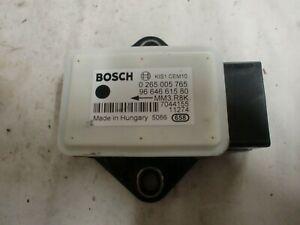 capteur ESP Bosch d'occasion de Peugeot 308 , 0265005765 / 9664661580 (réf 7263)