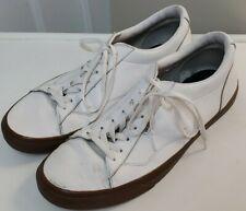 Vans White Leather Shoe Mens Size 13