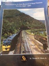 2 books: Chesapeake & Ohio Railway West Virginia Photos 1940-1960; at Hawks Nest