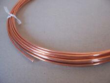 Kupferdraht 1,4mm Blank LÄNGE WÄHLBAR Kupfer Basteldraht Keshe Draht 1mm Weich 2