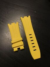 AUDEMARS PIGUET Rubber Strap  Yellow / 28x24 - LIKE NEW