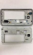 Used Black Mid Frame Bezel Housing With Parts For Samsung Note 4