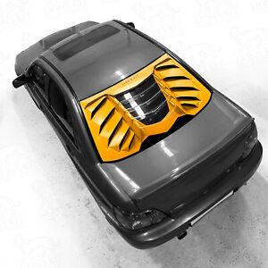 Rear window louver LION'S KIT for SUBARU IMPREZA, WRX, WRX STI 00-07