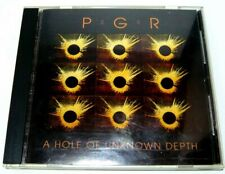 "PGR ""A Hole of Unknown Depth"" CD - C6 - abstract minimal japan noctovision 1990"