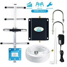 GSM 850MHz Band5 Cell Phone Signal Amplifier Booster AT&T Verizon 3G 4G Cellular