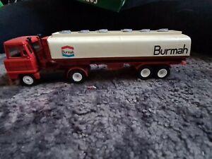 MATCHBOX SUPERFAST # 63D FREEWAY BURMAH PETROL GAS TANKER DIECAST TRUCK LORRY