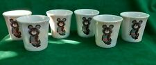 Shot glass Olympic 1980 Olympic Bear RARE USSR 6 items