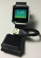 Fitbit Blaze (Size Small) With Charger Work Great With Free Return Shipping