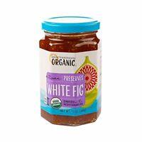 Mediterranean Organics Preserve White Fig, PartNo 53644, by Mediterranean O, Sin