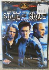 State of Grace (DVD, 2002) RARE 1990 CRIME THRILLER SEAN PENN BRAND NEW MGM