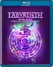 Labyrinth Return to Live Blu-ray 2018