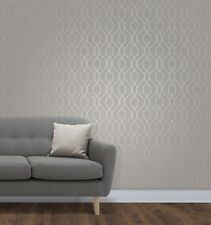 Apex Trellis Taupe/Grey Wallpaper by Fine Decor -  FD41997