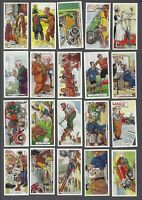 1936 Ardath Tobacco Co. Proverbs Tobacco Cards Complete Set of 50
