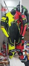 Tuta moto Motogp Racing in pelle 100% originale taglia 46,48,50,52,54
