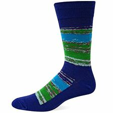 Hot Sox Men's Boucle Plaid Boot Sock 10-13 MSRP $12