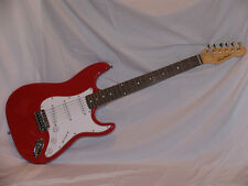 StringMasters Strat Style Electric Guitar and Amp Pack Red