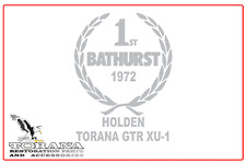 Bathurst Tribute Sticker, Holden Torana GTR XU1 - Small