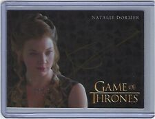 2017 Game of Thrones Valyrian Steel Natalie Dormer as Margaery Tyrell Auto!
