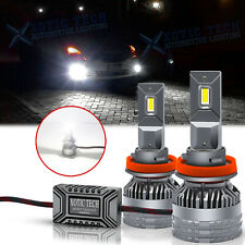 H8 H9 H11 6500K LED White Headlight Conversion For DRL Fog Light Lamps 13000LM