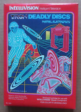MATTEL INTELLIVISION    **  TRON DEADLY DISCS  **  BOXED