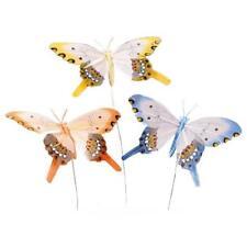 Knorr Prandell 90mm Feather Butterflies - 3pcs Colour Mix #8030901