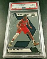 ZION WILLIAMSON 2019 PANINI MOSAIC #269 ROOKIE RC PSA 10 PELICANS NBA