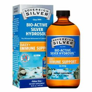 Sovereign Silver Bio-Active Silver Hydrosol for Immune Support (Economy Size) -