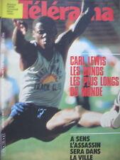 1751 CARL LEWIS BD PETILLON (VII) BRIGITTE FOSSEY ETTORE SCOLA TELERAMA 1983
