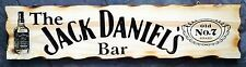 The Jack Daniel's Bar Rustic Pine Timber Sign