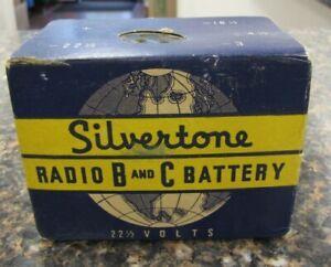 Vintage Sears Silvertone Radio B and C Battery No. 5119-P 221/2 Volts