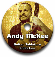 ANDY MCKEE FINGERSTYLE GUITAR TAB TABLATURE SONG BOOK SOFTWARE CD