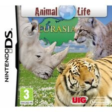 Animal Life Eurasia Nintendo DS NDS 2ds DSL DSi 3ds Video Game UK