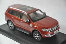 Ford Everest car model in scale 1:18 Red