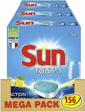 Tablettes Lave-Vaisselle Tout en 1 Action Intégral 156 Lavages (Lot de 3x52 ) Fr