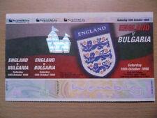 England Football League Fixture Tickets & Stubs (1992-2004)