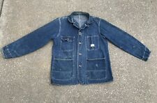 Vintage Penneys Payday Denim Chore Jacket Union Made Sanforized Usa Pay Day