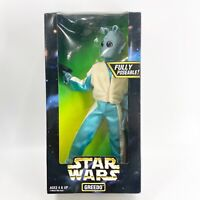 "STAR WARS 12"" Action Figure Collector Series GREEDO Unopened Sealed Kenner 1997"