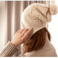 100 % Cashmere Hat. Cute and Warm