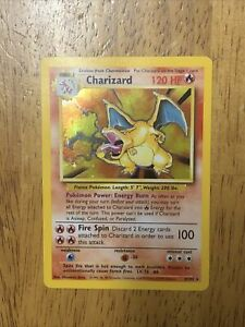 Pokemon Base Set Unlimited Charizard Holo!!! Read!!