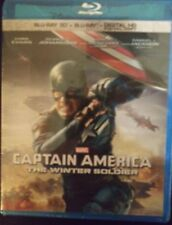 Captain America: The Winter Soldier (Blu-ray Disc, 2014, Includes Digital Copy …