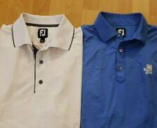 Lot Of 2 Footjoy Golf Polo Shirts Sz M Excellent