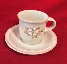 HEARTHSIDE CHANTILLY DISHES CHINA JAPAN FLEUR DEBOIS COFFEE TEA CUP & SAUCER