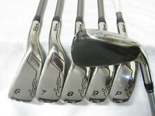 Used RH Wilson Launch Pad LP Iron Set 5-P Senior Flex Graphite Shafts