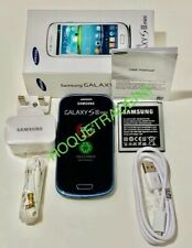 New Samsung Galaxy S3 Mini  Blue GT-I8190 Unlocked Sim Free ANDROID Smartphone