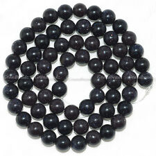 "Wholesales 10 strands x 6mm BLUE Sand Quartz Gemstone Round Beads 15.5"" GB69"