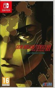 SHIN MEGAMI TENSEI 3 III NOCTURNE HD REMASTER SWITCH NUOVO PREVENDITA 25 MAGGIO