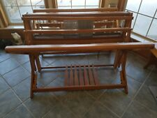 "Gilmore Hand Weaving Floor loom 45"" Jack type folding Well-loved condition"