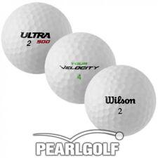 25 wilson Mix pelotas de golf-aaaa-lakeballs sin marcadores