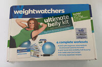 Weight Watchers Ultimate Belly Kit DVD Mini Stability Ball 4 Complete Workouts