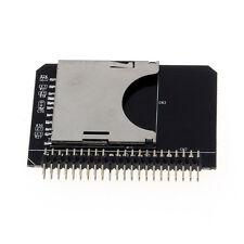 Neu! SD SDHC SDXC MMC Speicherkarte zu IDE 2.5 Zoll 44Pin Männlich Adapter